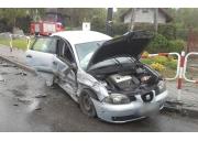 Groźne zderzenie na skrzyżowaniu w Brodach